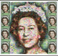 THE GAMBIA, 2003 QUEENS MOSAIC SHEETLET MNH - Gambia (1965-...)