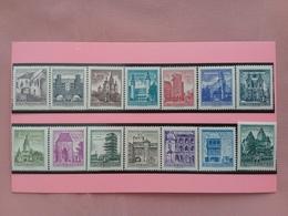 AUSTRIA 1957 - Vedute E Monumenti - Nn. 870I/874I Nuovi ** + Spese Postali - 1945-.... 2a Repubblica