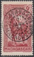 Madagascar 1908-1939 - Farafangana Sur N° 191 (YT) N° 202 (AM). Oblitération De 1938. - Madagascar (1889-1960)