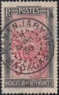 Madagascar 1908-1939 - Mananjary Sur N° 131 (YT) N° 129 (AM). Oblitération. - Madagascar (1889-1960)