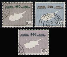 CYPRUS 1960 - Set Used - Cyprus (Republic)