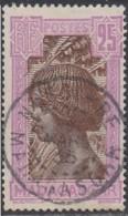 Madagascar 1908-1939 - Nossi-Be Sur N° 168 (YT) N° 176 (AM). Oblitération De 1935. - Madagascar (1889-1960)