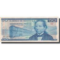 Billet, Mexique, 50 Pesos, 1978, 1978-07-05, KM:65c, TB - Mexique