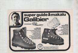 Publicité Galibier Makalu Desmaison Pontvert Izeaux - Werbung