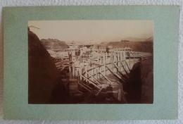 Ancienne Photo Vers 1891 Construction Du Fort CHAPOLY Système Séré De Rivières SAINT GENIS LES OULLIERES N°3 - Old (before 1900)