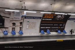Paris XIX (75)- Métro- Station Colonel Fabien (Edition à Tirage Limité) - Métro