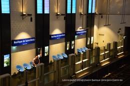 Saint-Denis (93)- Métro- Station Basilique (Edition à Tirage Limité) - Métro
