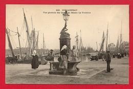 Concarneau (29) Vue Générale Des Quais Du Bassin De La Fontaine - Concarneau
