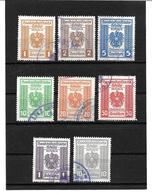 3097v: Österreich 1946, Handelsstatistische Gebührenmarken- Ein Gutes Lot Bedarfsentwertungen ! - Seals Of Generality