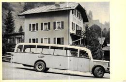 SUISSE - GRIMENTZ HOTEL PENSION DE MOIRY GRIMENTZ - BUS ANCIEN - Switzerland