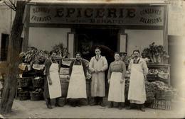 CARTE PHOTO 83 TOULON  Devanture D'Epicerie - Toulon