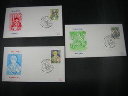 "BELG.1984  2151 2152 & 2153 FDC's  ( Charleroi )  "" Serie Kinderen / Enfants "" - FDC"