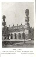 Cp Hyderabad Indien, Golkonda Mosque Attached To The Tomb Of Hayat Bakhshi Begum - Indien