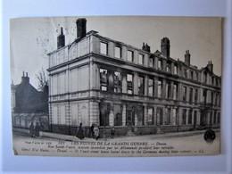 FRANCE - NORD - DOUAI - Rue Saint-Vaast, Maison Incendiée Par Les Allemands - Douai