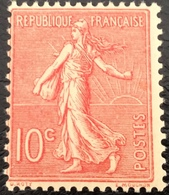 N° 129  NEUF ** SANS CHARNIÈRE ( LOT:24 ) - 1903-60 Semeuse Lignée