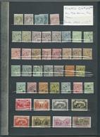 MONACO : Collection Neufs** Et * Et Oblitérés Dans Classeur 28 Pages. Départ 1 €. - Timbres