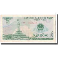 Billet, Viet Nam, 5 D<ox>ng, 1985, KM:92a, TTB - Vietnam