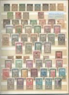 Colonie Française : MADAGASCAR. Collection Sur 6 Pages ( Dont Surchargés France Libre ) Départ 1 €. - Collezioni (in Album)