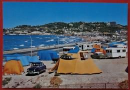Cpsm Cpm 13 MARSEILLE Promenade De La Corniche Camping Les Vagues Plage, Aronde DS Caravanes - Endoume, Roucas, Corniche, Beaches