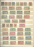 Colonie Française : REUNION, Collection Sur 2 Pages, Départ 1 €. - Timbres