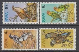 D160131 South West Africa 1974 BIRD Parots Parokeets Finches Set MNH - Afrique Du Sud Afrika RSA Sudafrika - Afrique Du Sud-Ouest (1923-1990)