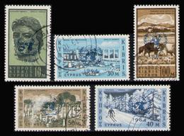 CYPRUS 1964 - Set Used - Chypre (République)