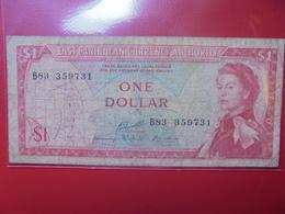 EAST CARIBBEAN 1$ N-D (1965) SIGNATURE N°10 (B.4) - Guyana