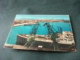 NAVE SHIP PORTO LIVORNO TOSCANA  GRU - Commercio