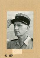 Photo Originale Le Général CREVECOEUR  Arrété Un Des Présumés De L'O.A.S - Guerra, Militari