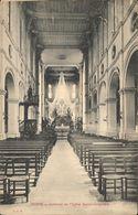 Reims Intérieur De L'Eglise Sainte-Geneviève J.S.R. - Reims