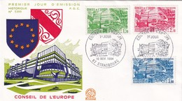 Conseil De L'Europe, Strasbourg, FDC 1984 - 1984