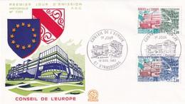 Conseil De L'Europe, Strasbourg, FDC 1983 - Europa-CEPT