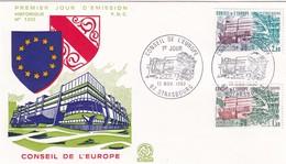 Conseil De L'Europe, Strasbourg, FDC 1982 - Europa-CEPT