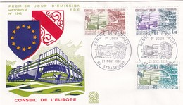 Conseil De L'Europe, Strasbourg, FDC 1981 - Europa-CEPT