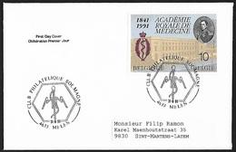 1991 - BELGIË/BELGIQUE/BELGIEN - FDC + Y&T 2416 + MELEN - 1991-00