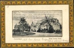 Gaufré Passepartout Cp Coesfeld Im Münsterland, Fürstliches Schloss Varlar - Allemagne