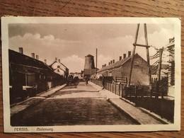 CPA, Pays Bas, PERNIS, Molenweg, Animée, écrite En 1930 - Autres