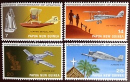 Papua New Guinea 1972 Aviation Anniversary Aircraft MNH - Papouasie-Nouvelle-Guinée