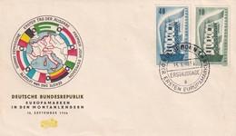 Germany 1956, FDC Europe. Cv 45 Euro. - Europa-CEPT