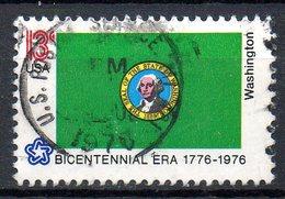 USA. N°1122 Oblitéré De 1976. G. Washington. - George Washington