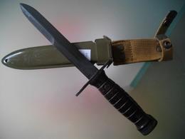 Baïonnette Dague Us M4 Italie - Armes Blanches