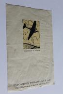 France Feuillet 14cm X 9cm Exposition Philatelique 1946 Parachutage De Courrier - Documents Of Postal Services