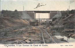3 Les Travaux Du Canal Du Centre La Louvière - La Louvière