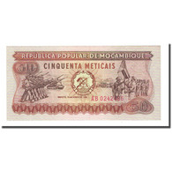 Billet, Mozambique, 50 Meticais, 1980-06-16, KM:125, NEUF - Mozambique
