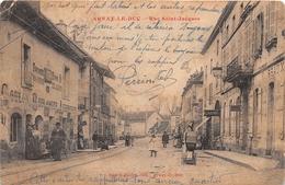 """¤¤   -   ARNAY-le-DUC   -  Rue Saint-Jacques  -  Boulanger , Aubergiste """" COULON """"    -  ¤¤ - Arnay Le Duc"""