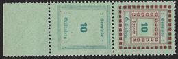 3097l: Österreich Stempelmarke Grillenberg Ohne Rotdruck, Senkrechtes Paar, RR - Fiscaux