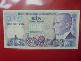 TURQUIE 1000 LIRA 1970(86)  CIRCULER (B.4) - Turquie