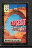 USA. Timbre Oblitéré De 2006. Pont Naturel. - Bridges