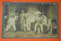 1907 Saïgon Cochinchine 11 RIC Popote Des Sous-Officiers Infanterie Coloniale Catalans Avec Noms Dos Scanné - Guerre, Militaire