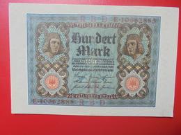 100 MARK 1920 ALPHABET :E CIRCULER (B.4) - [ 3] 1918-1933 : Repubblica  Di Weimar